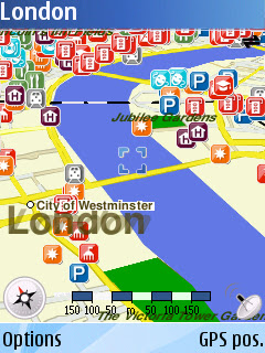 Nokia Maps - London in 3D Mode