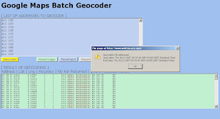 batch geocoders to gis