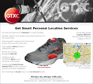 GTXC GPS Shoe