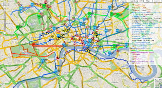 Camden Cycle_Map - Clickable Lines