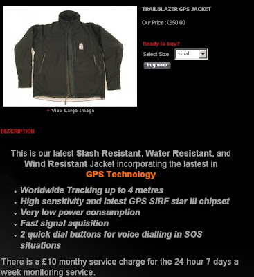 Trail Blazer GPS Jacket