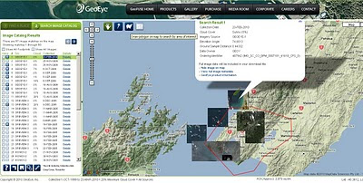 Geofuse - GeoEye Images by Map - New Zealand