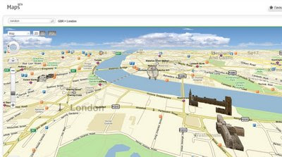 Ovi Nokia Maps in IE8 Browser