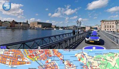 Mapjack Streetview Stockholm, Sweden