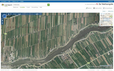 Live Maps Netherlands - Tulip Fields