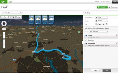 Nokia Maps v3.0 Updated