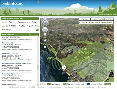 ParkInfo.org Full Parks Info in 3D