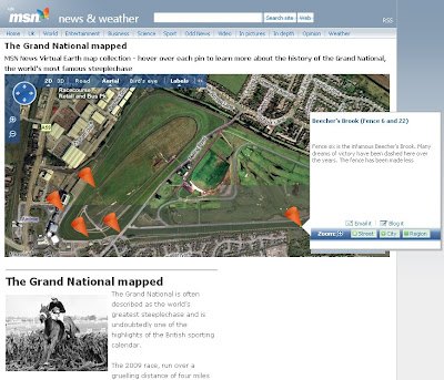 Grand National Mapped - 2009