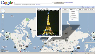 Google Maps Web Cam Layer