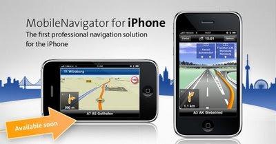 Navigon iPhone GPS Navigator