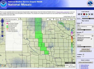 South Dakota Flood Warning
