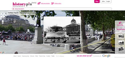 Historypin beta - Streetview with History