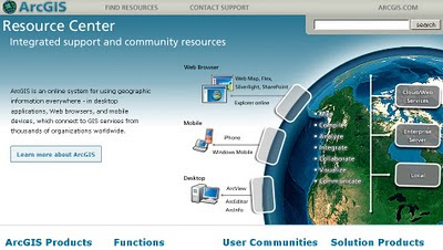 ESRI to release ArcGIS - June 2010
