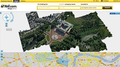 Yell Beta Photo Real 3D Cities UK - Buckingham Palace