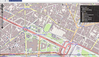 Paris Open Data Released in Open Street Map