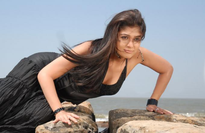 Nayanthara in Black Dress