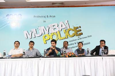 Mumbai Police Malayalam Movie Launch Stills movie photos