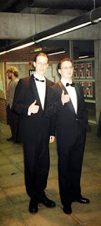 Harry S. Truman og Dale Cooper undercover på One Eyed Jacks, ca. 1993