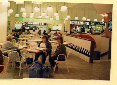 Charlotte Outlet Shopping on Gourmet Gardens  Eastland Mall  Charlotte  North Carolina  Interior