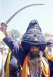 Nihang Sikhs