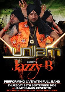 Uni Jam - Jazzy B