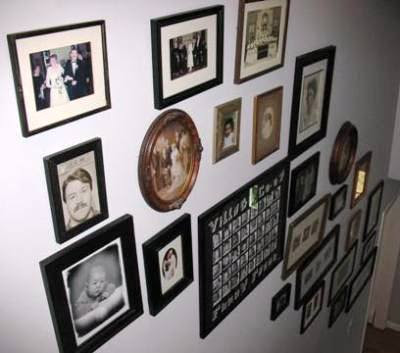 At Home Redesigns Picture This Hanging Photos Without A