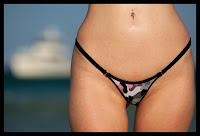 camo bikini bottom