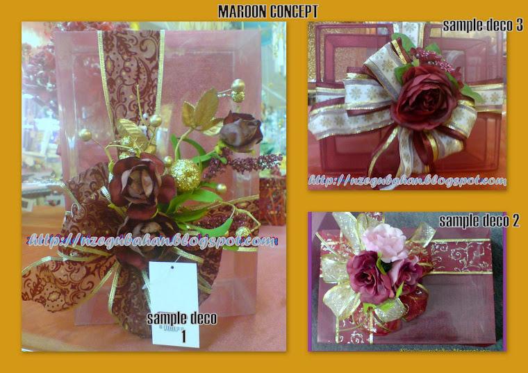Contoh Dekoration Kotak Hantaran