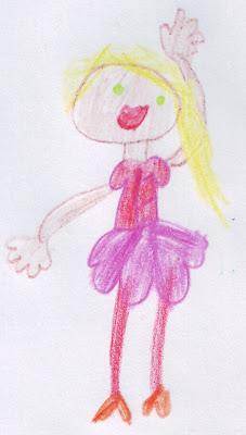 Desenho de uma Bailarina