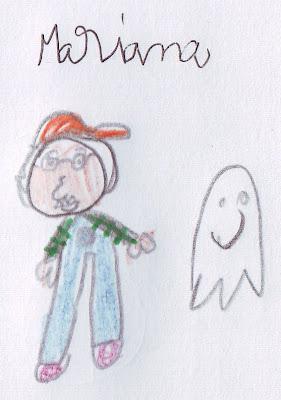 desenho do Avô Cantigas e Fantasminha