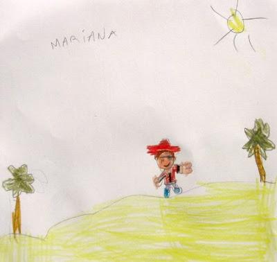 Desenho de um Pirata