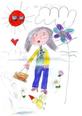Desenho Infantil: Dia da Mãe