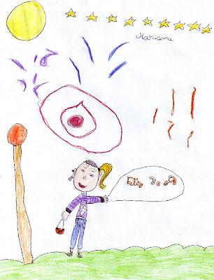Desenho alusivo ao Ano Novo: 2009