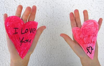 Corações para o Dia dos Namorados