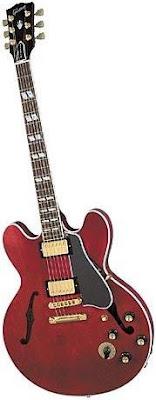 Tipos de guitarras - Semi-acústica