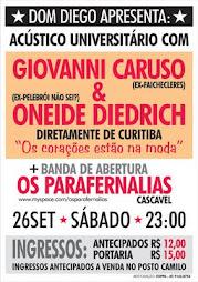 26/09/2009 ACÚSTICO UNIVERSITÁRIO