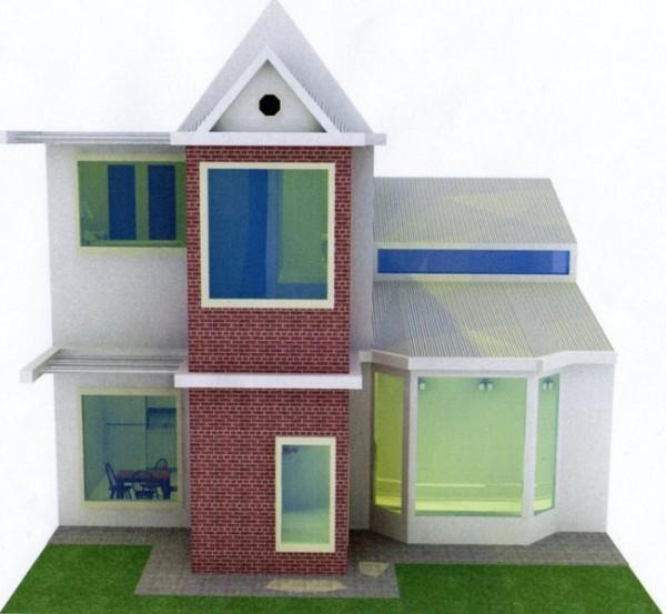 Togerseo plano de casa de dos pisos y un dormitorio for Casas reducidas