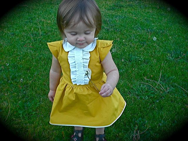 Как строится выкройка: платье для девочки 1 год 99