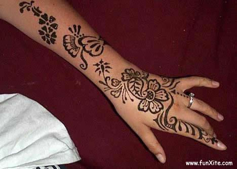 mehndi tattoo. dresses indian mehndi tattoo