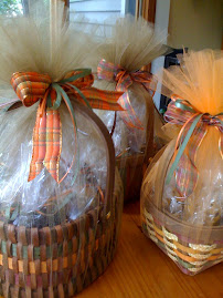 Matt's Fall Cookie Baskets