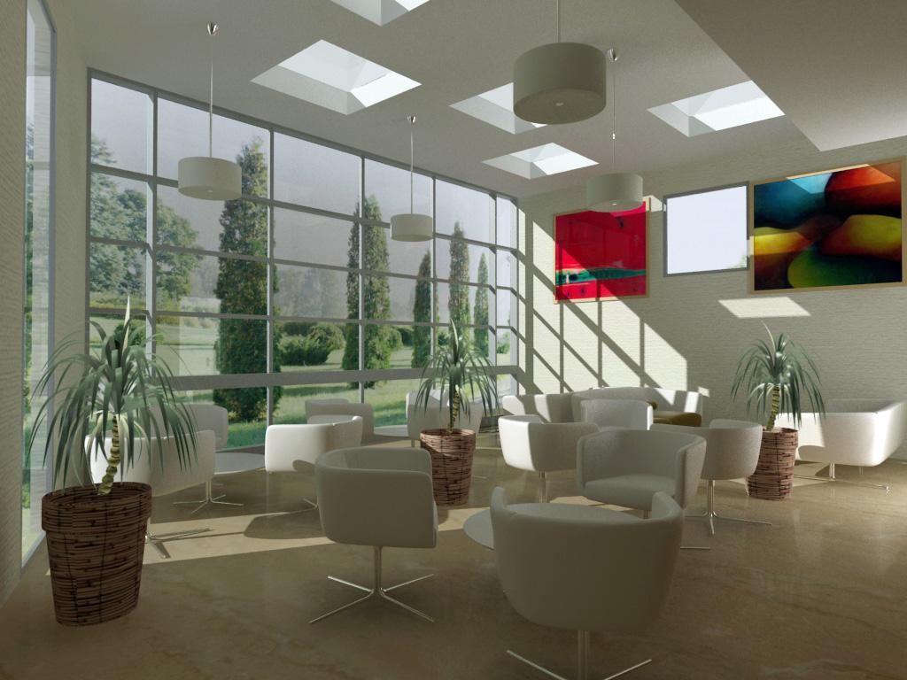 Infograf a 3d dise o arquitect nico arquitectura del for Diseno bar pequeno