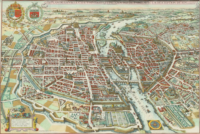 The Early Modern World In Upstate New York January - Modern map of paris