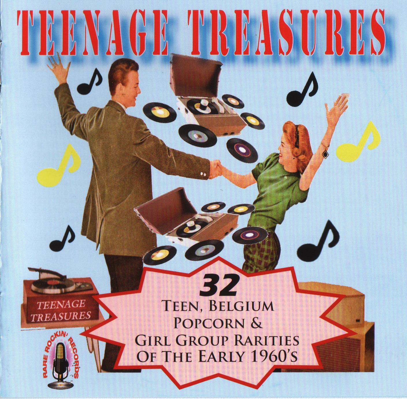 Teenage Treasures (32 Teen, Belgium Popcorn & Girl Group Rarities Of The ...