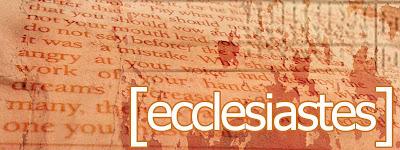 Qoheleth bible character study