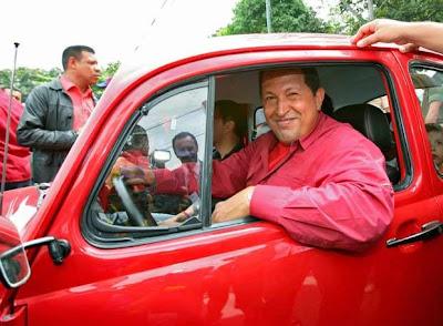 Chávez, El País