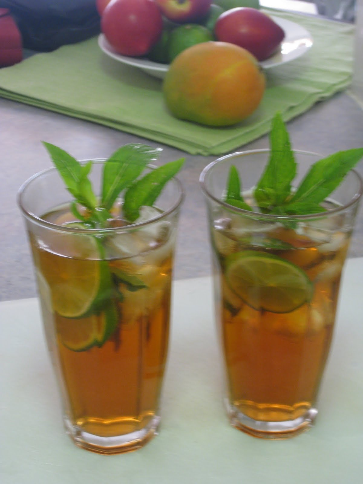 ... Your Way to Health – A Woman's Guide: Iced Berry Mint Lime Tea