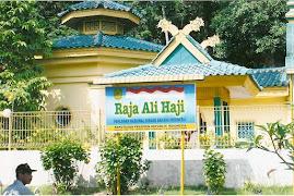 Makam Raja Ali Haji, Pujangga terkenal dibidang sastera & penulisan Bahasa Melayu.