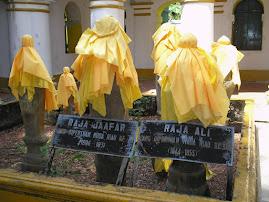 Makam Yang DiPertuan Muda Riau Ke 8, Raja Ali Ibni Raja Jaafar
