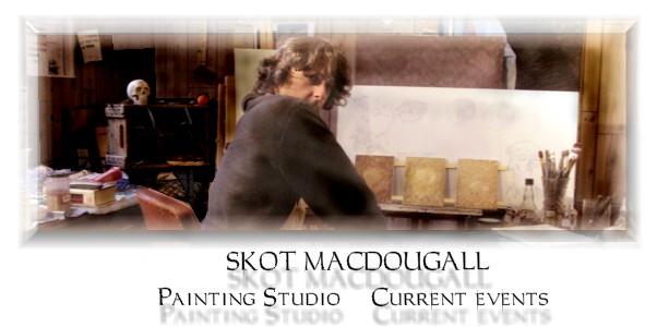 Skot MacDougall Painting Studio