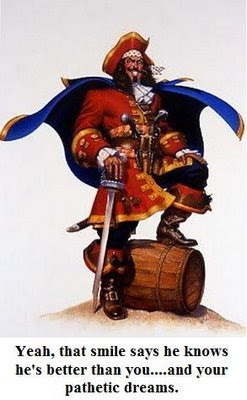 In The Red Corner Venerable And Always Courageous Captain Morgan A High Seas Legend World Renowned For His Spiced Rum